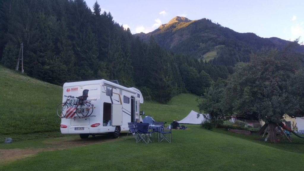 Camping in Northern Italy