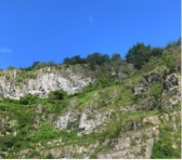 Camping, Hiking, Cheddar Gorge, SW England, UK